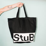 StuBru - Zwarte Cotton Bag #2