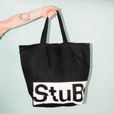StuBru - Zwarte Cotton Bag #2