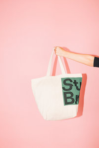 StuBru - Naturel Cotton Bag #3