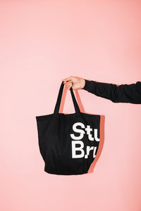 StuBru - Zwarte Cotton Bag #1